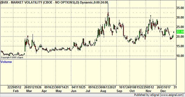 Volatility Index 2007